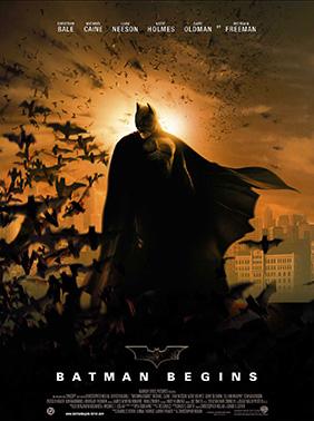 Affiche française de Batman Begins