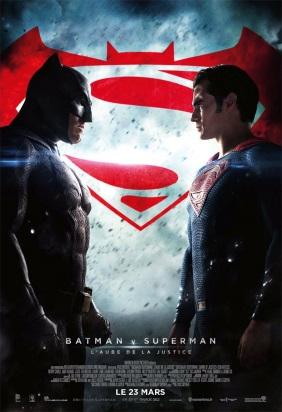 Affiche française de Batman v Superman