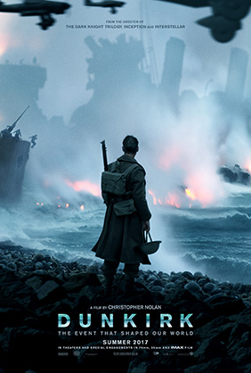 Affiche temporaire de Dunkerque