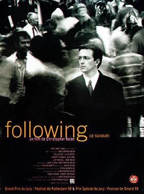 Affiche française de Following
