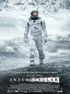 Affiche française d'Interstellar