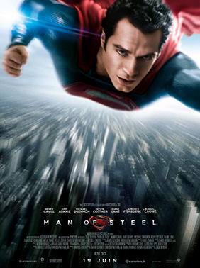 Affiche française de Man of Steel