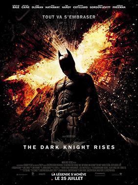 Affiche française de The Dark Knight Rises