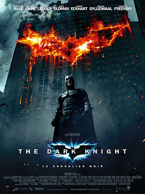 Affiche française de The Dark Knight