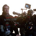 Christopher Nolan sur le tournage de The Dark Knight Rises